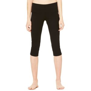 Women's Cotton Spandex Capri Fit Leggings Thumbnail