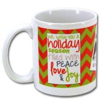 11 oz Ceramic Mug, UV Protected, FDA Compliant, Microwave and Dishwasher Safe Thumbnail
