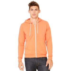 3739 Unisex Sponge Fleece Full-Zip Hoodie Thumbnail