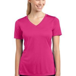 LST353 Ladies PosiCharge ® Competitor™ V Neck Tee Thumbnail