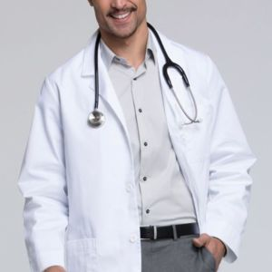 Cherokee Lab Coats 1389A Men's 31 Inch Lab Coat with Certainty Thumbnail
