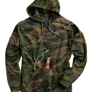8615 Tailgate Polyester Hooded Pullover Sweatshirt Thumbnail