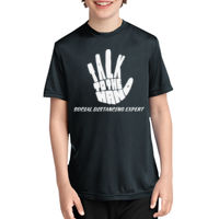 TALK TO THE HAND SOC DIS EXPERT - PC380Y Youth Performance Tee Thumbnail