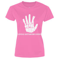 TALK TO THE HAND SOC DIS EXPERT - LPC380 Ladies Performance Tee Thumbnail