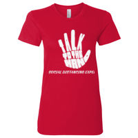 TALK TO THE HAND SOC DIS EXPERT - 2102W ® Women's Fine Jersey T Shirt American Apparel Thumbnail