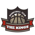 The Kings Basketball team Logo Template Thumbnail